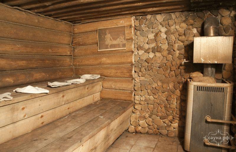 Баня из кирпича проект