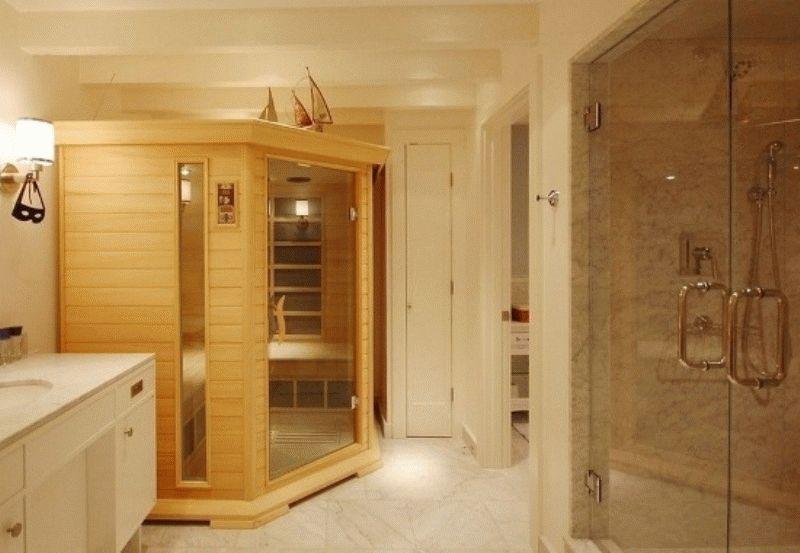 Дом баня из клееного бруса