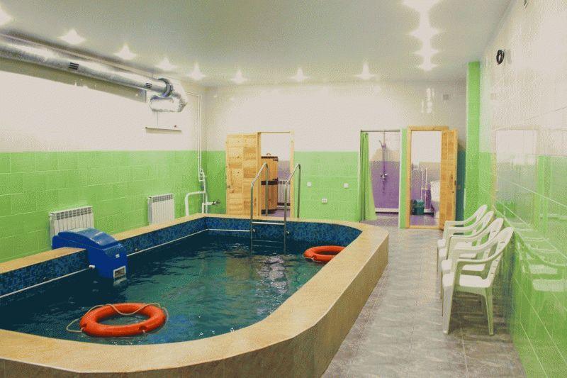 Двухэтажная баня из бруса