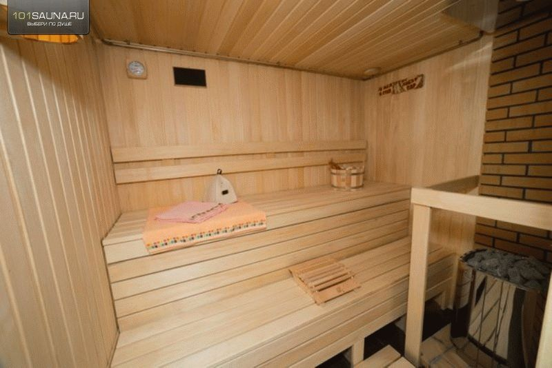 Маленькая баня для дачи