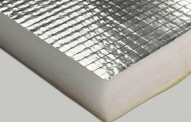 Фольга на бумажной основе для бани