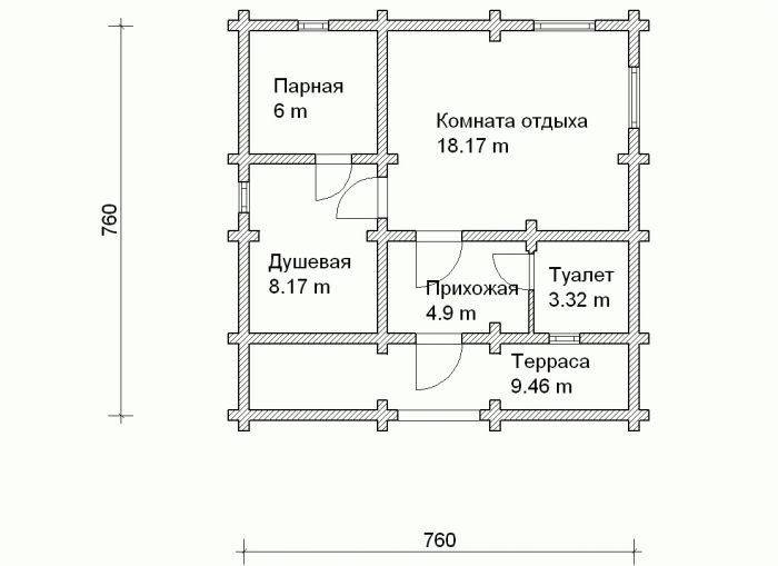 Баня из шлакоблока разбор тонкостей строительства утепления и отделки