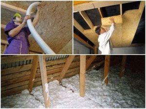 Чем лучше утеплить потолок бани