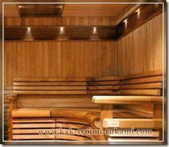 Чем обработать потолок в бане