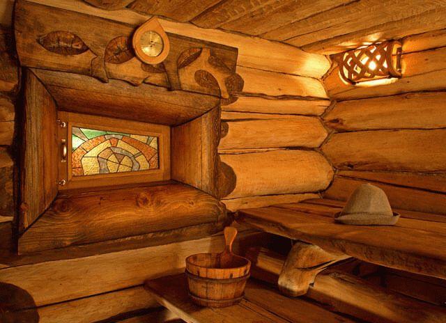 Чем обшить баню изнутри