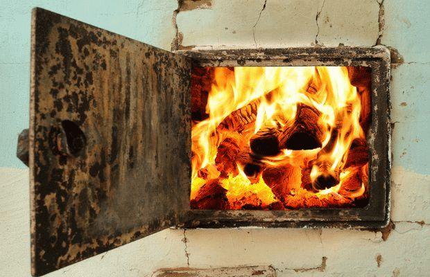 Чем обмазать печь чтобы не трескалась