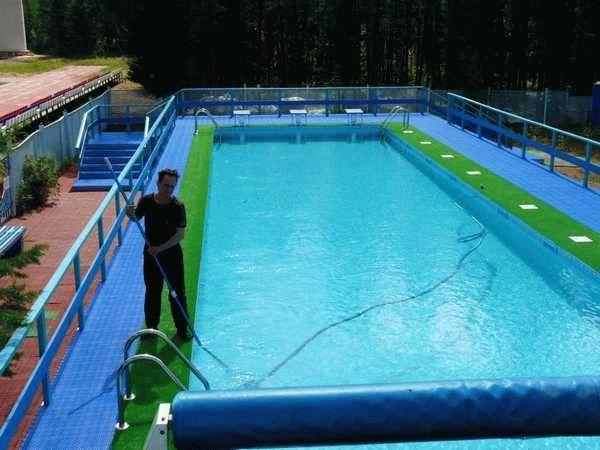 Активный кислород для бассейнов - Строим баню или сауну