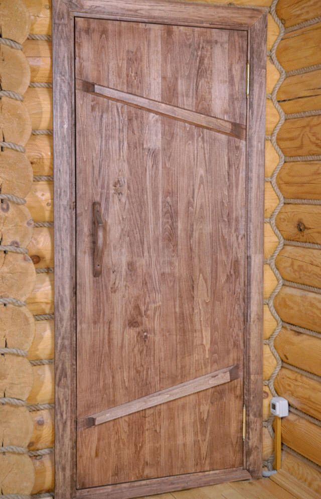 Модели входных дверей из пластика в бане