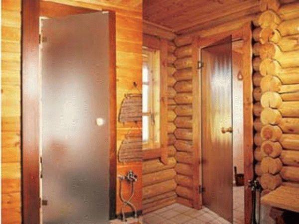 Уличная дверь входная для бани