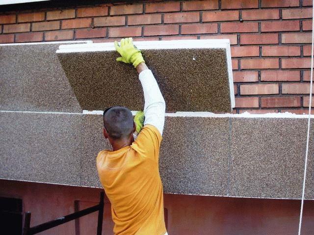 Фасадные утепленные панели для наружной отделки дома
