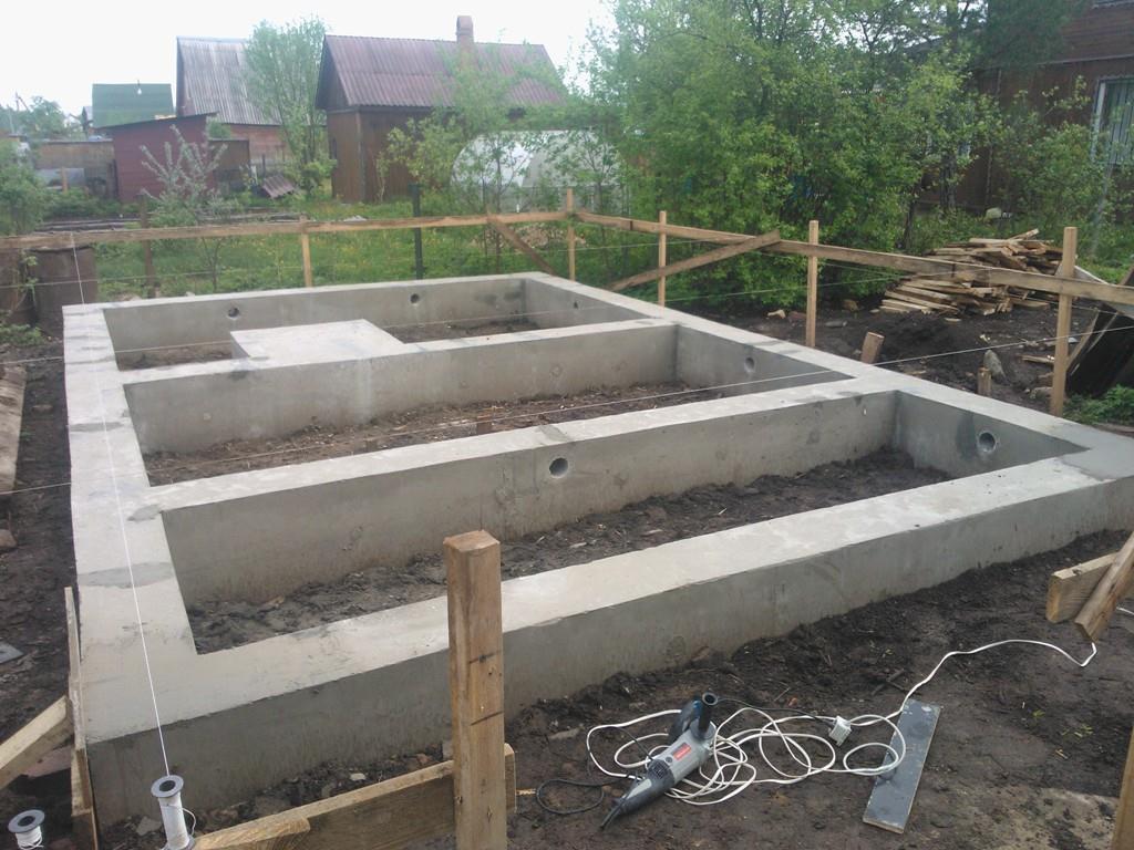 Строим фундамент своими руками для бани фото 374