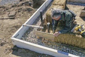Как сделать фундамент под баню из бруса своими руками