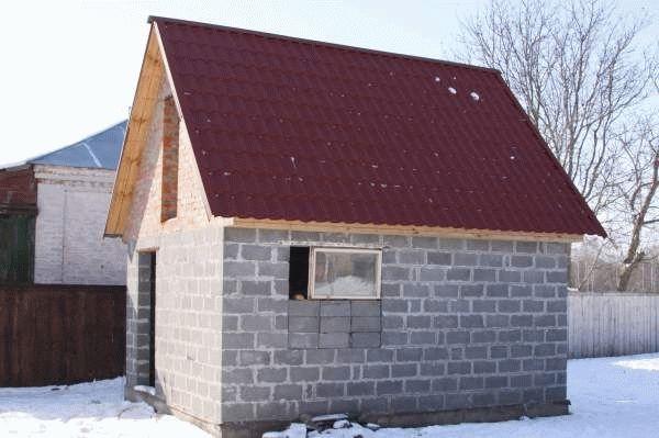 Где на даче строить баню