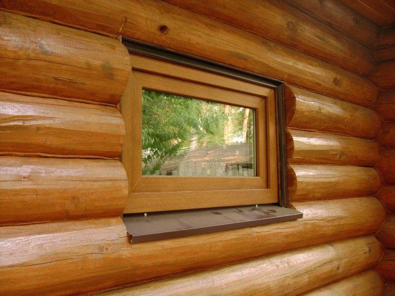 Деревянные окна для бани - Всё о бане