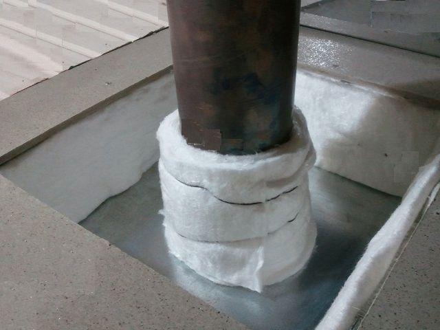 Чем обернуть трубу дымохода от возгорания как изолировать действующую стальную трубу дымохода