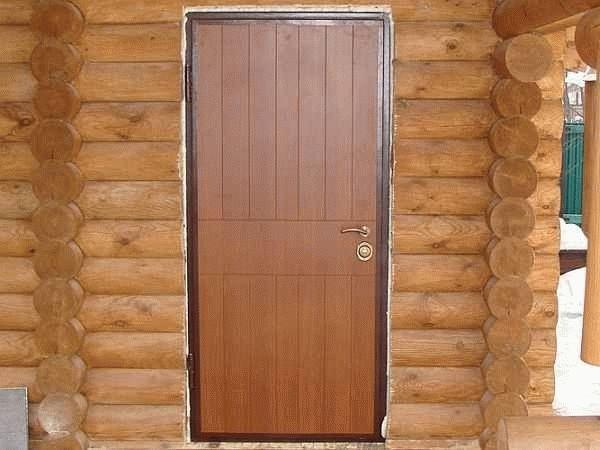 Какие двери в баню