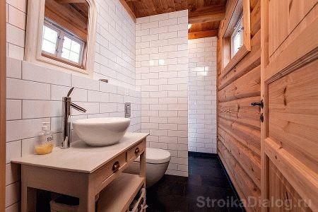 Окно в парилке бани - Строим баню или сауну
