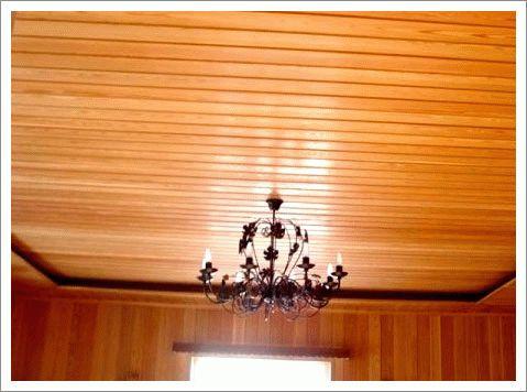 Как правильно обшить потолок в бане вагонкой