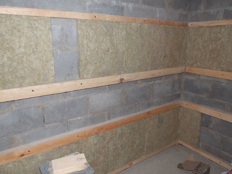 Обрешетка на потолок под вагонку - Строим баню или сауну