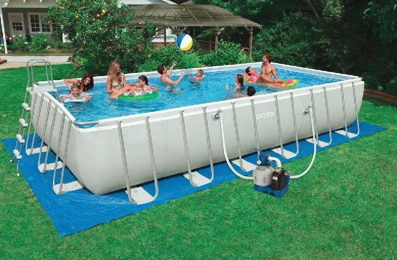 Какой бассейн лучше – надувной или каркасный?