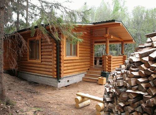 Как построить дешевую баню на даче