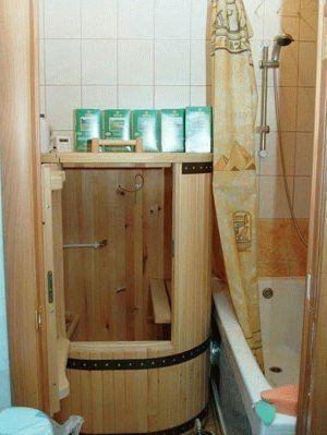 Мини сауна для дома - Всё о бане