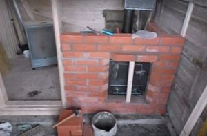 Как обложить железную печь в бане кирпичом своими руками, чем облицевать печь на даче.