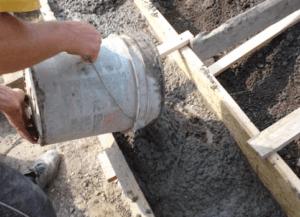 Как правильно залить фундамент под баню