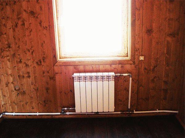 Диаметр однотрубной системы отопления