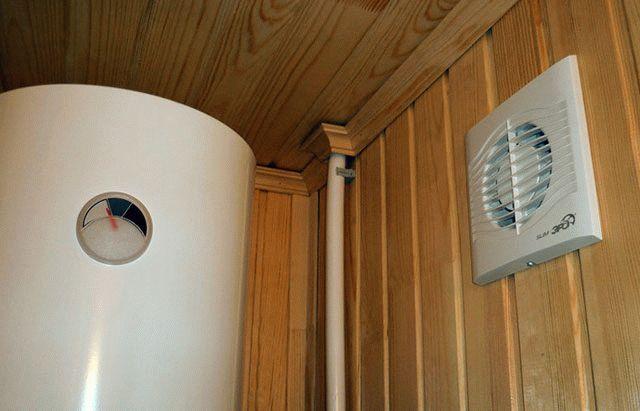Баня вытяжка и вентиляция