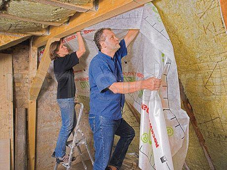 Пароизоляция бани: фольгированная изоляция на потолок, какую выбрать для парилки, как сделать с фольгой для сауны