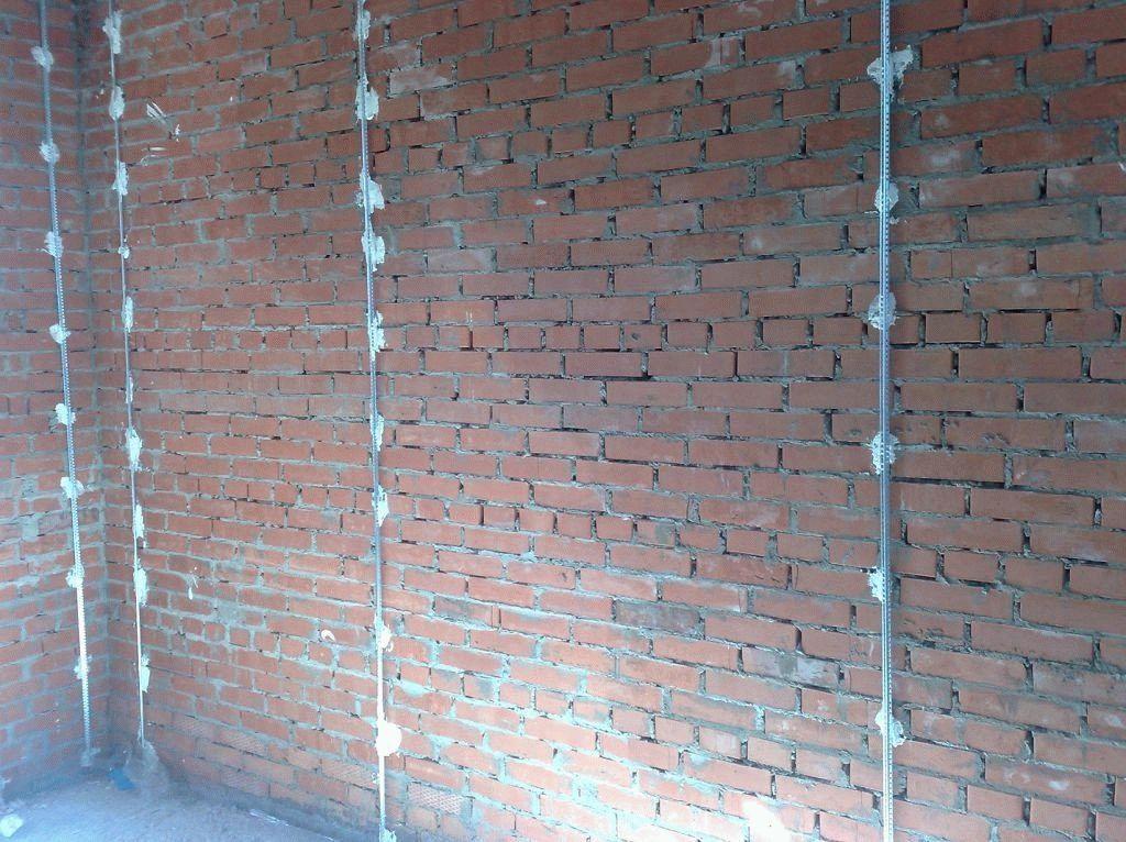 Установка маяков для штукатурки стен саморезами